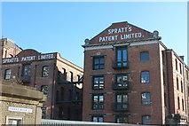 TQ3781 : Spratts Patent Ltd by Robert Eva