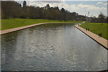 SX9192 : River Exe Flood Relief Channel by N Chadwick