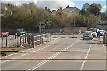 SX9193 : Station Rd Level Crossing by N Chadwick