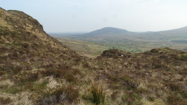 On the Keenagh Loop path below Knockaffertagh, Nephin Beg Range