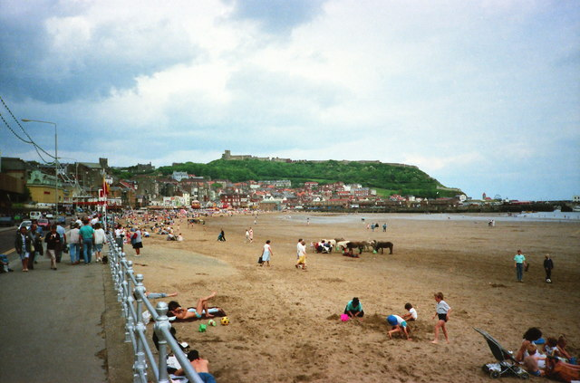 The South Sands at Scarborough