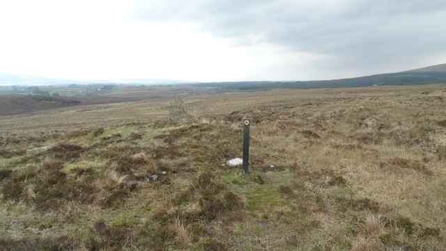View SW along part of the Keenagh Loop Path, Co Mayo