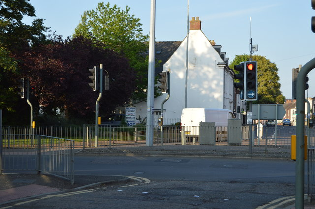 A1078, A148 junction
