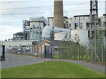 SE4724 : Ferrybridge C Power Station - flue gas desulphurisation plant by Chris Allen