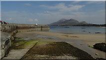 L8382 : Louisburgh - Old Head Beach, Quay & slipway by Colin Park