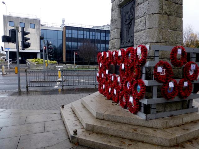 Poppy wreaths, Omagh