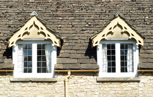 Cottage Windows, Jockey Row, Badminton, Gloucestershire 2011