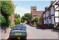 SJ6677 : High Street, Great Budworth by Jeff Buck