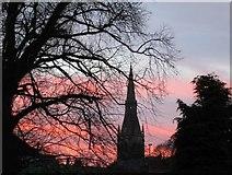 SK7953 : Newark sunset by Jonathan Thacker