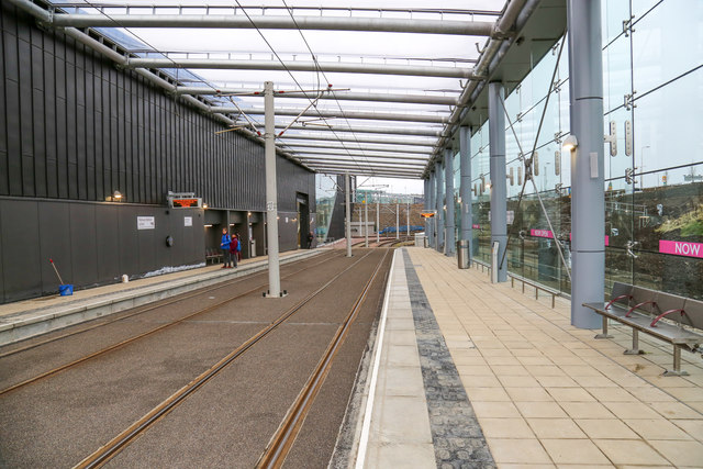 Edinburgh Gateway tram station