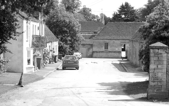 Shop Lane, Badminton, Gloucestershire 2011