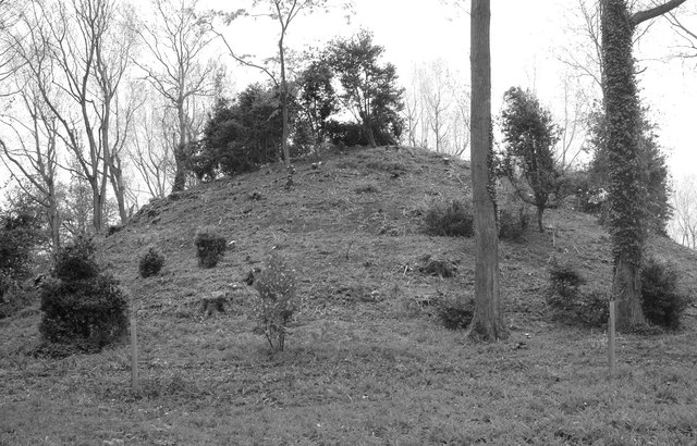 Ice-box Mound, Badminton Park, Gloucestershire 2012