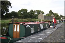 N6618 : Narrowboats at Spencer Bridge, Rathangan by Alex Passmore
