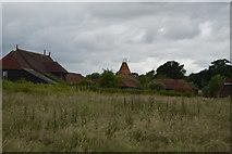 TQ5247 : Charcott Farm Oast by N Chadwick