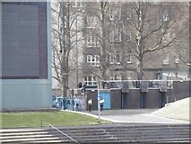 NT2774 : Watching for free, Wishaw Terrace by Richard Webb