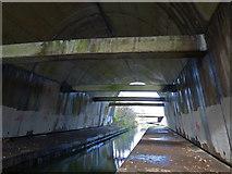 SP7257 : Underneath the M1 motorway by Mat Fascione