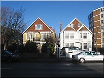 TQ2704 : 51-53, New Church Road, Aldrington, Hove by Simon Carey
