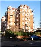 TQ2704 : Rutland Court, New Church Road, Aldrington, Hove by Simon Carey
