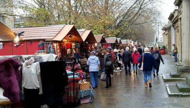 Christmas Market, Cheltenham, 1