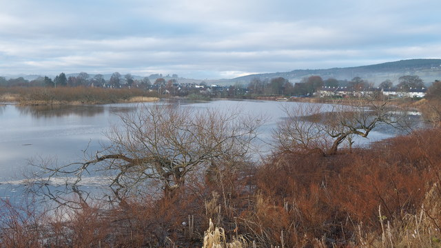 View to Beauly along the River Beauly