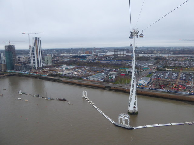 View from the Emirates Airline
