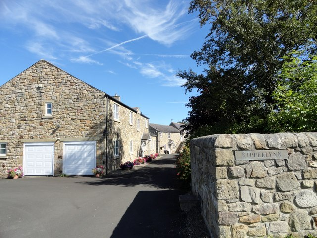 Converted farm buildings at Kipperlynn