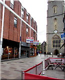 ST1876 : Pedestrianised Church Street, Cardiff city centre by Jaggery