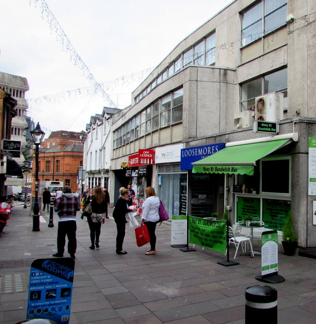 Quay Street, Cardiff city centre