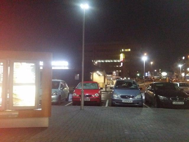 McDonald's car park, Colindale