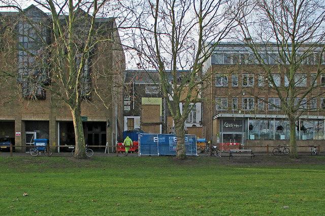 Building site on Regent Terrace