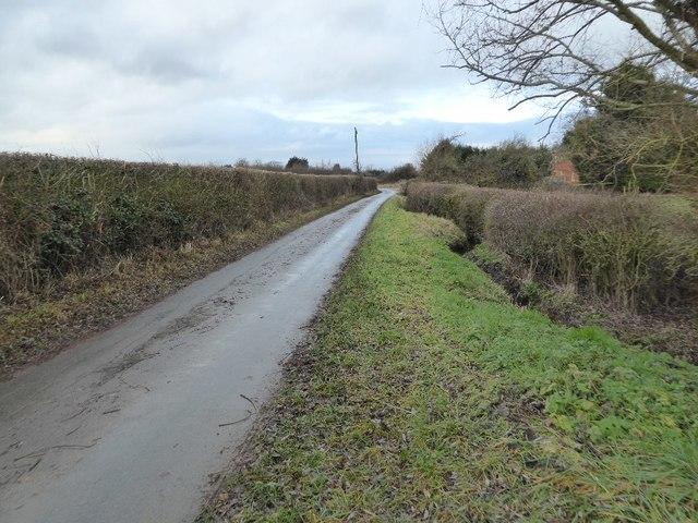 No through road at Claydon
