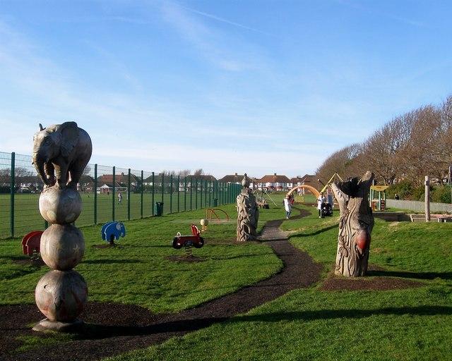 Play Area, Aldrington Recreation Ground (Wish Park), Hove