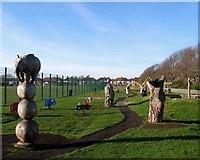 TQ2704 : Play Area, Aldrington Recreation Ground (Wish Park), Hove by Simon Carey
