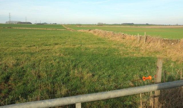 Farmland between Tormarton and Acton Turville