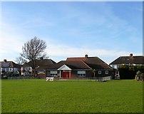 TQ2704 : Saxon Road Pavilion, Aldrington Recreation Ground (Wish Park), Hove by Simon Carey