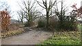 TM2989 : Bomb storage area near Earsham Hall by Evelyn Simak