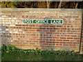 TG1115 : Post Office Lane sign by Adrian Cable
