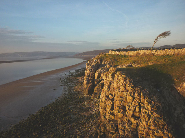 Dusk on the Silverdale shore