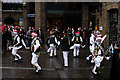 TQ3280 : Morris Dancing on the South Bank by Peter Trimming