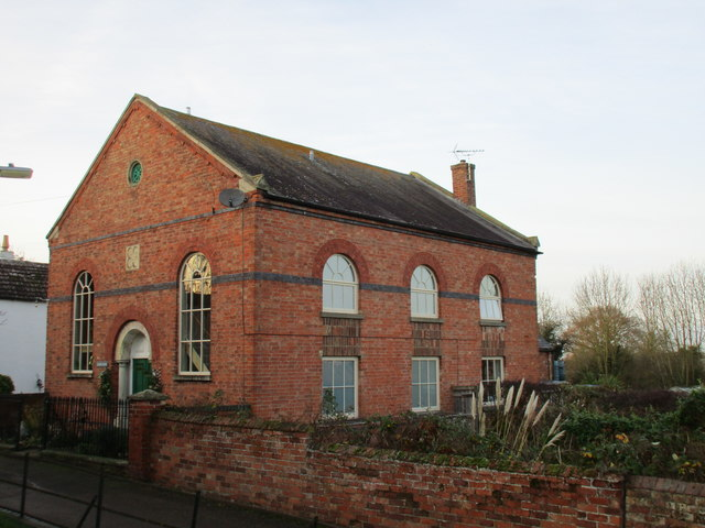 The former Methodist church, Coddington