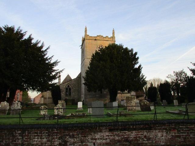All Saints' church, Coddington