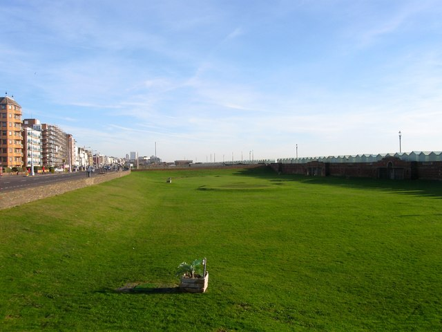 Miniature Golf Course, Western Lawns, Hove