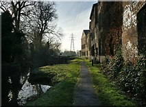 SK5702 : Factories at St Mary's Mill Lock, Aylestone by Mat Fascione