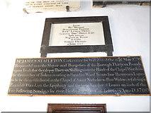 TF6120 : St Nicholas' Chapel, King's Lynn: memorials (26) by Basher Eyre