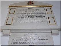 TF6120 : St Nicholas' Chapel, King's Lynn: memorial (31) by Basher Eyre