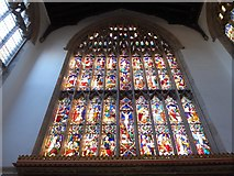 TF6120 : St Nicholas' Chapel, King's Lynn: stained glass window (1) by Basher Eyre