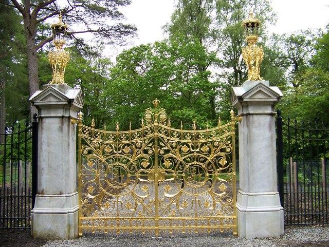 The Golden Gates at Benmore Gardens