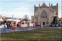 SX9292 : Christmas Market by Peter Jeffery