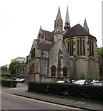 SZ0891 : North side of St Stephen's Church, Bournemouth by Jaggery