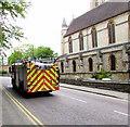 SZ0891 : Fire engine, St Stephen's Way, Bournemouth by Jaggery